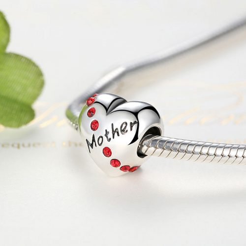 Sterling Silver Mother Charm
