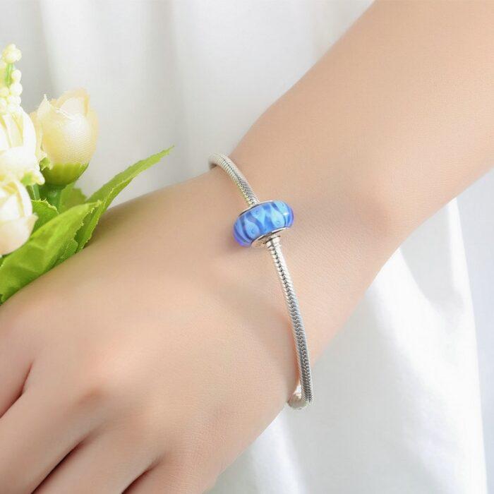 Blue Lagoon Murano Glass