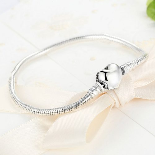 Love U Silver Bracelet