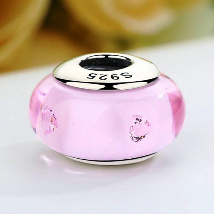 Pink Deep Murano Glass