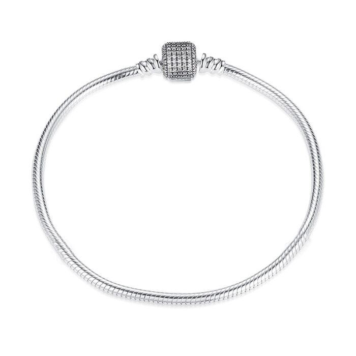 Shining Silver Bracelet