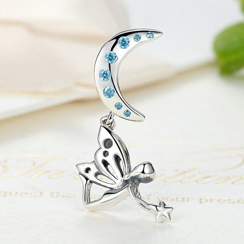 Dream Fairy Sterling-Silver-Charm