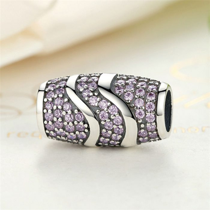 Shimmering Sterling Silver Charm