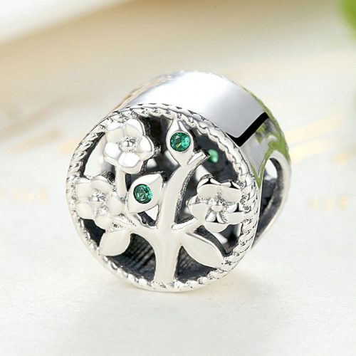 Touch of Spring Silver Sterling Charm
